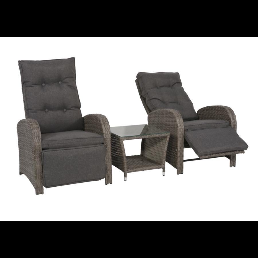 Lounge Tuinstoelen - Duoset Melia - Wicker - Lesli Living-2