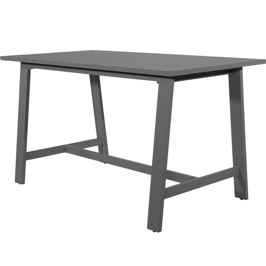 Barset - Malibu - Antraciet - Aluminium - Lesli Living-5