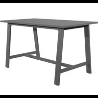 thumb-Bartafel - Malibu - Antraciet - Aluminium - Lesli Living-1