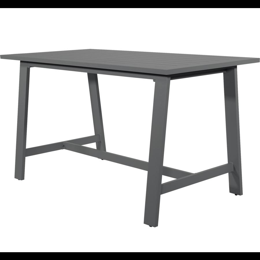 Bartafel - Malibu - Antraciet - Aluminium - Lesli Living-1