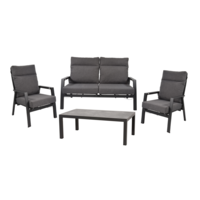 thumb-Stoel-Bank Loungeset – Ohio – Antraciet - Aluminium – Lesli Living-1