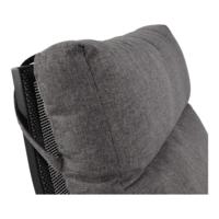 thumb-Lounge Tuinbank – Ohio – Antraciet - Aluminium – Lesli Living-4