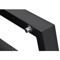 thumb-Lounge Tuinbank – Ohio – Antraciet - Aluminium – Lesli Living-5