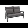 Lesli Living  Lounge Tuinbank – Ohio – Antraciet - Aluminium – Lesli Living