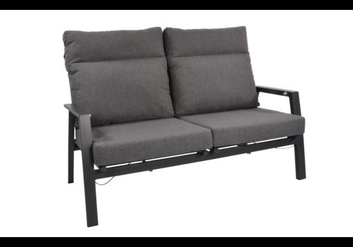 Lounge Tuinbank – Ohio – Antraciet - Aluminium – Lesli Living