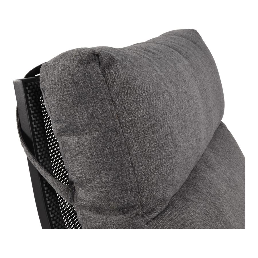 Lounge Tuinstoel – Ohio – Antraciet - Aluminium – Lesli Living-4