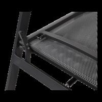 thumb-Lounge Tuinstoel – Ohio – Antraciet - Aluminium – Lesli Living-8
