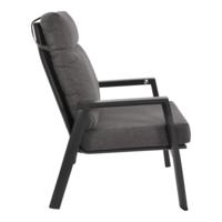 thumb-Lounge Tuinstoel – Ohio – Antraciet - Aluminium – Lesli Living-2