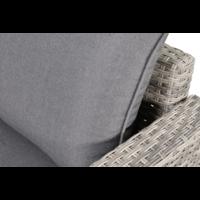 thumb-Hoek Loungeset - Valencia - Grijs - Wicker - Lesli Living-3