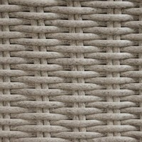 thumb-Zonne Eiland - Wicker - Antraciet - Rond - Lesli Living-10