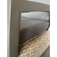 thumb-Hoek Loungeset - Prato Mountain - Aluminium/Wicker - Lesli Living-3