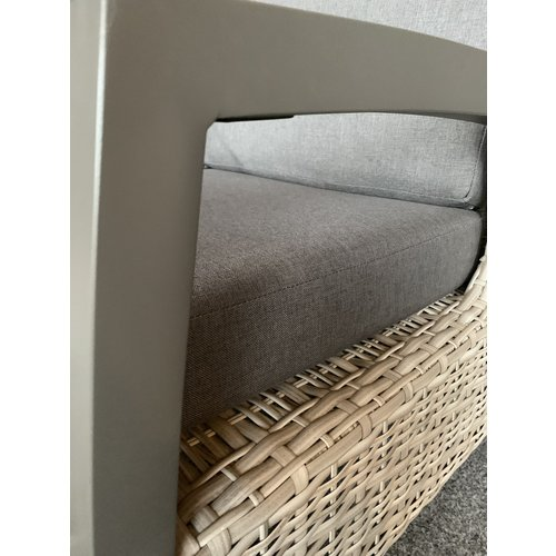 Lesli Living  Hoek Loungeset - Prato Mountain - Aluminium/Wicker - Lesli Living