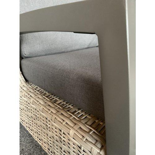 Lesli Living  Dining Tuinstoel - Prato Mountain - Aluminium/Wicker - Lesli Living