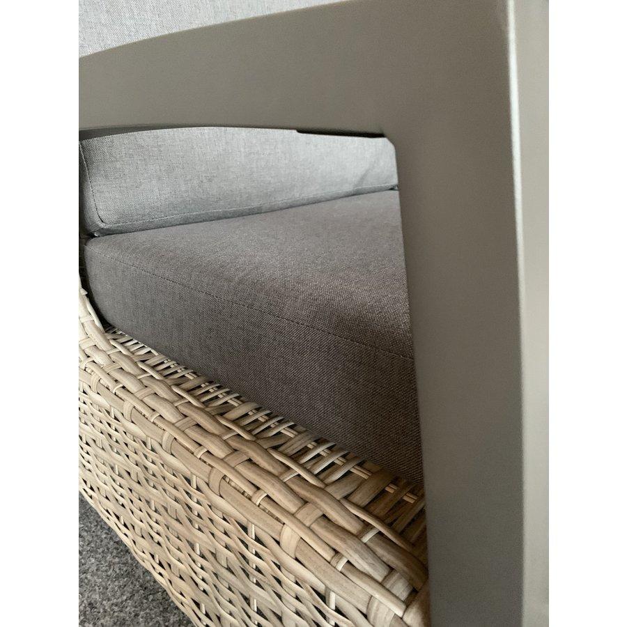 Dining Tuinstoel - Prato Mountain - Aluminium/Wicker - Lesli Living-7