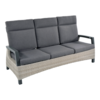 Lesli Living  Lounge Tuinbank - Prato Mountain - Aluminium/Wicker - Lesli Living