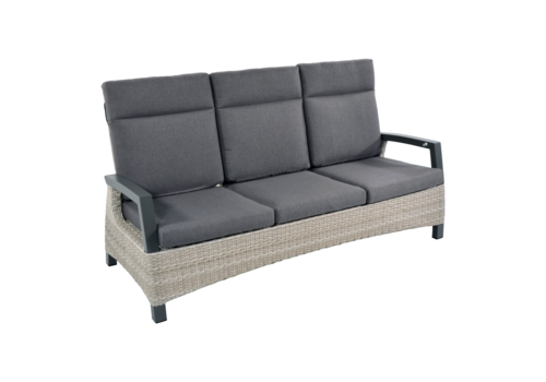Lounge Tuinbank - Prato Mountain - Aluminium/Wicker - Lesli Living