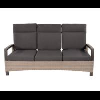 thumb-Lounge Tuinbank - Prato Mountain - Aluminium/Wicker - Lesli Living-2