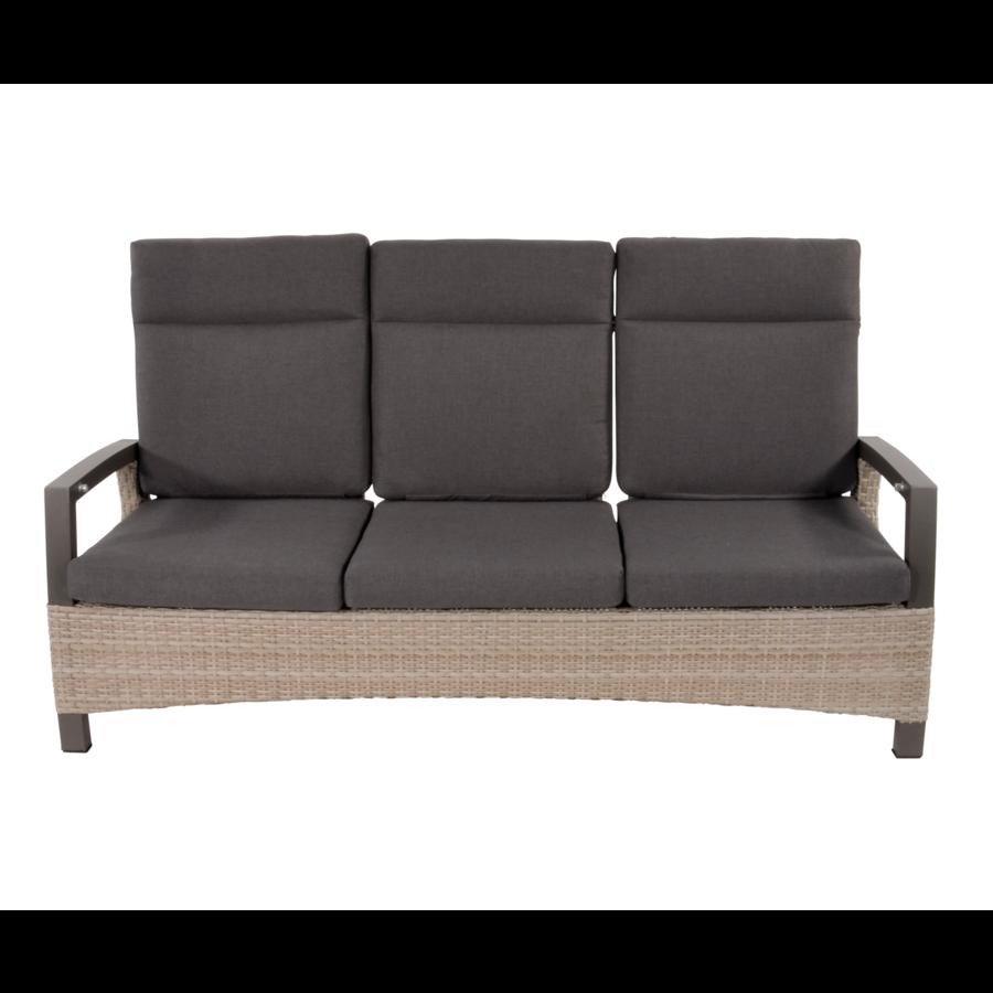 Lounge Tuinbank - Prato Mountain - Aluminium/Wicker - Lesli Living-2