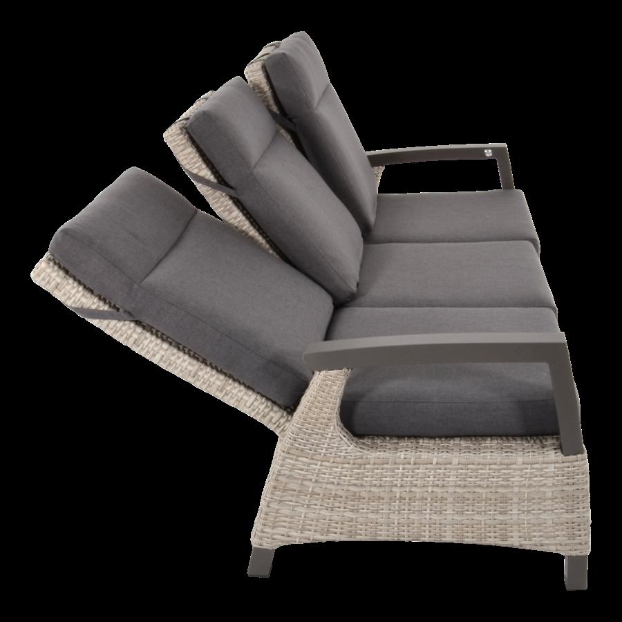 Lounge Tuinbank - Prato Mountain - Aluminium/Wicker - Lesli Living-5