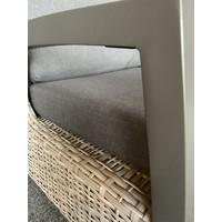 thumb-Lounge Tuinbank - Prato Mountain - Aluminium/Wicker - Lesli Living-7