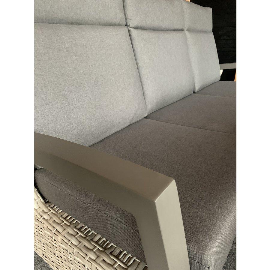 Lounge Tuinbank - Prato Mountain - Aluminium/Wicker - Lesli Living-6