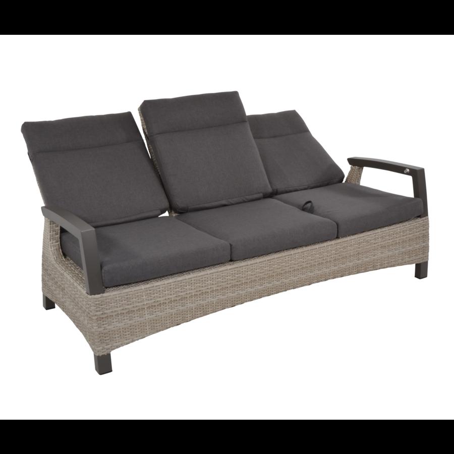 Lounge Tuinbank - Prato Mountain - Aluminium/Wicker - Lesli Living-10
