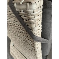 thumb-Lounge Tuinstoel - Prato Mountain - Aluminium/Wicker - Lesli Living-8