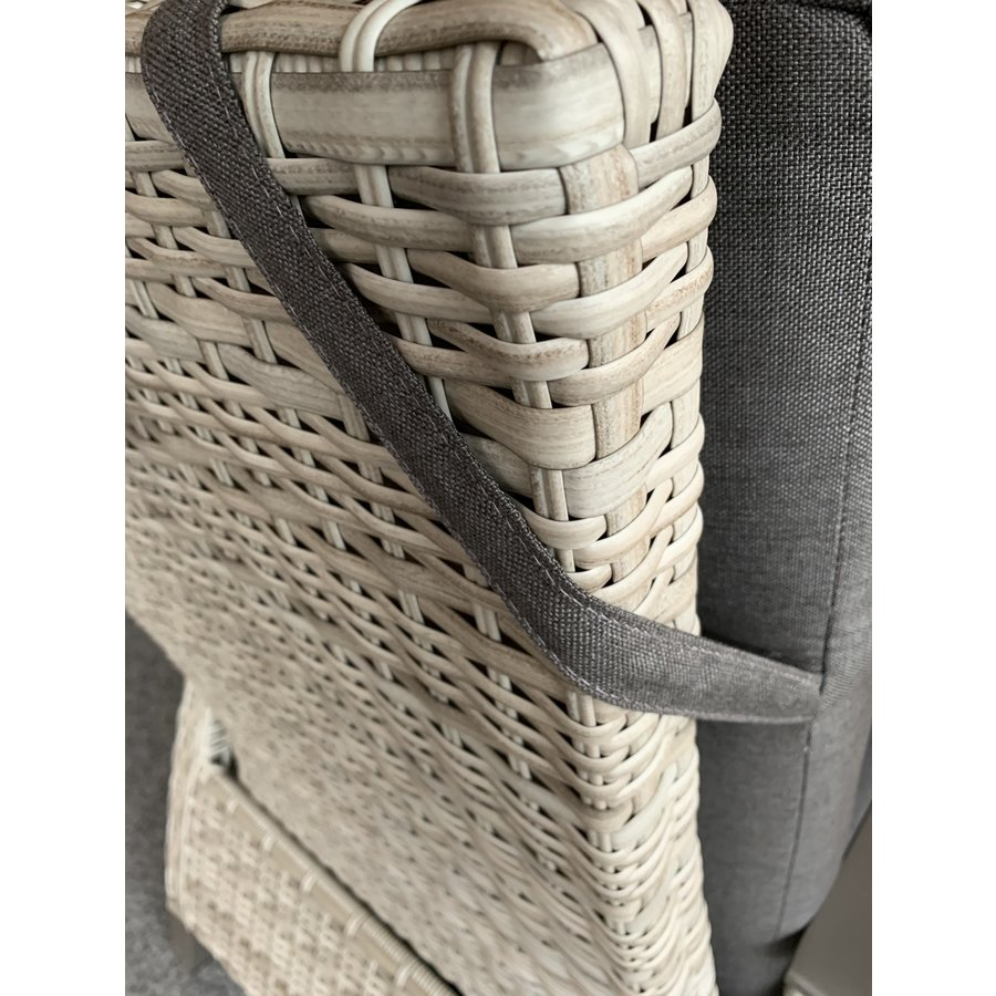 Lounge Tuinstoel - Prato Mountain - Aluminium/Wicker - Lesli Living-8