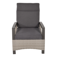 thumb-Lounge Tuinstoel - Prato Mountain - Aluminium/Wicker - Lesli Living-2