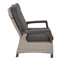 thumb-Lounge Tuinstoel - Prato Mountain - Aluminium/Wicker - Lesli Living-3