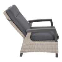 thumb-Lounge Tuinstoel - Prato Mountain - Aluminium/Wicker - Lesli Living-5