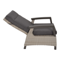 thumb-Lounge Tuinstoel - Prato Mountain - Aluminium/Wicker - Lesli Living-6