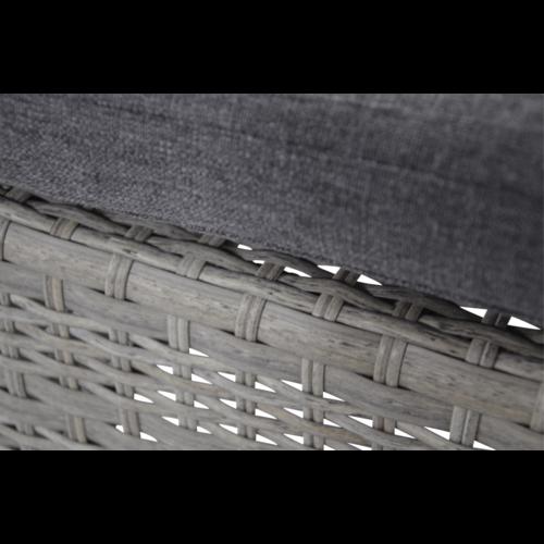 Lesli Living  Dining Tuinstoel - Prato Brick - Aluminium/Wicker - Lesli Living