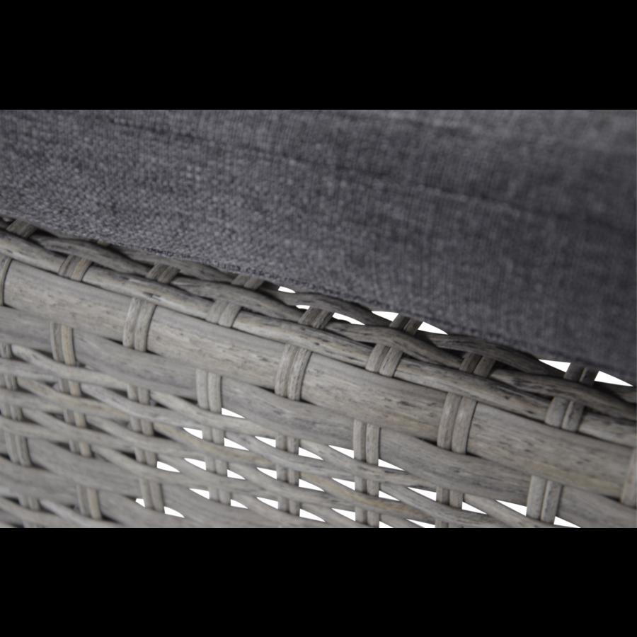 Dining Tuinstoel - Prato Brick - Aluminium/Wicker - Lesli Living-6