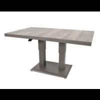 thumb-Lounge/Dining Tafel - Prato - Verstelbare Hoogte 50/72 cm - Lesli Living-1