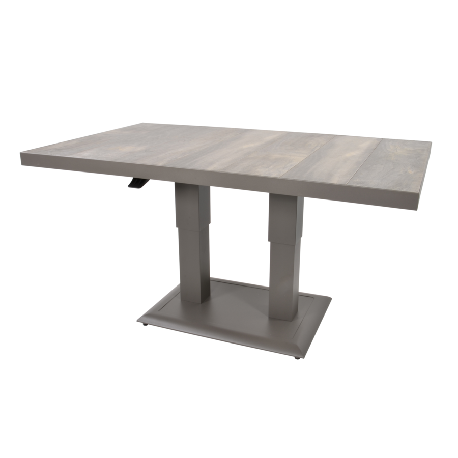 Lounge/Dining Tafel - Prato - Verstelbare Hoogte 50/72 cm - Lesli Living-1