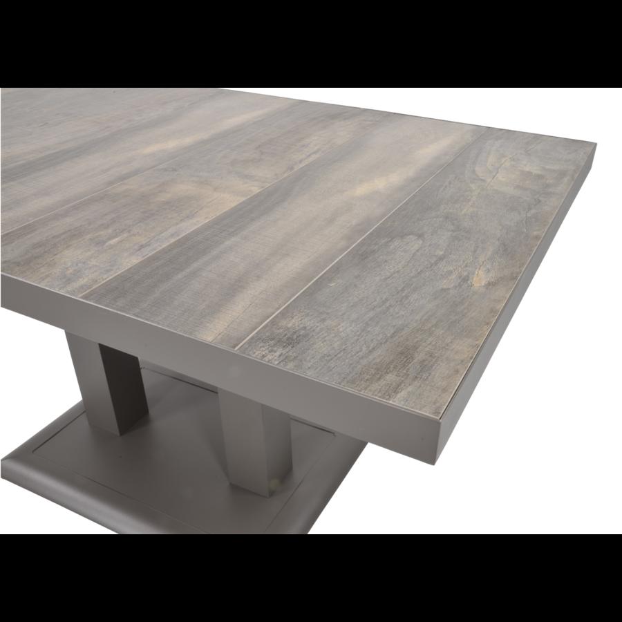 Lounge/Dining Tafel - Prato - Verstelbare Hoogte 50/72 cm - Lesli Living-3