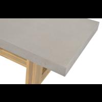 thumb-Dining Tuinbank - Judy - Beton Look - 250 cm - Lesli Living-5