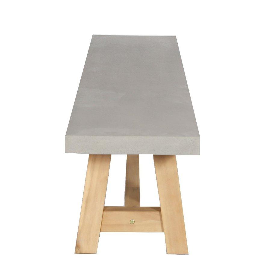 Dining Tuinbank - Judy - Beton Look - 180 cm - Lesli Living-4