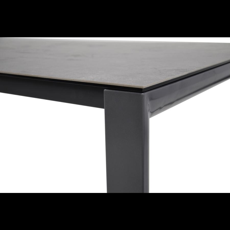 Tuintafel - Mojito Negro - Spraystone - 160x90x74 cm - Lesli Living-4