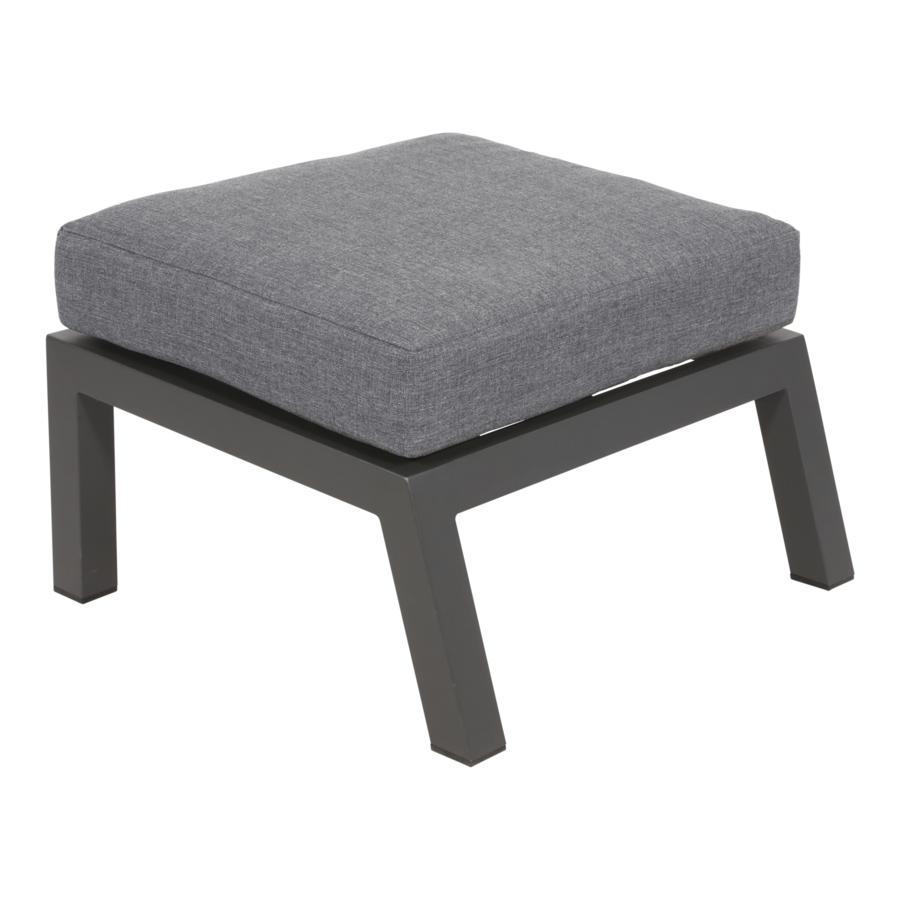 Lounge Tuinstoel - Down Town – Antraciet - Aluminium – Lesli Living-7