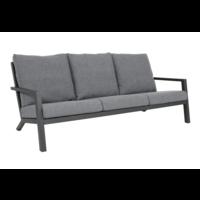 Lounge Tuinbank - Down Town – Antraciet - Aluminium – Lesli Living