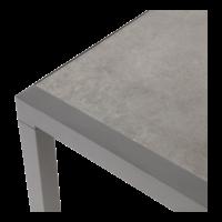 thumb-Lounge Tuinbank - Down Town – Antraciet - Aluminium – Lesli Living-8