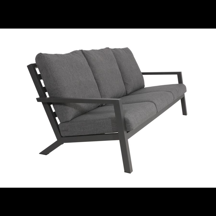 Lounge Tuinbank - Down Town – Antraciet - Aluminium – Lesli Living-2