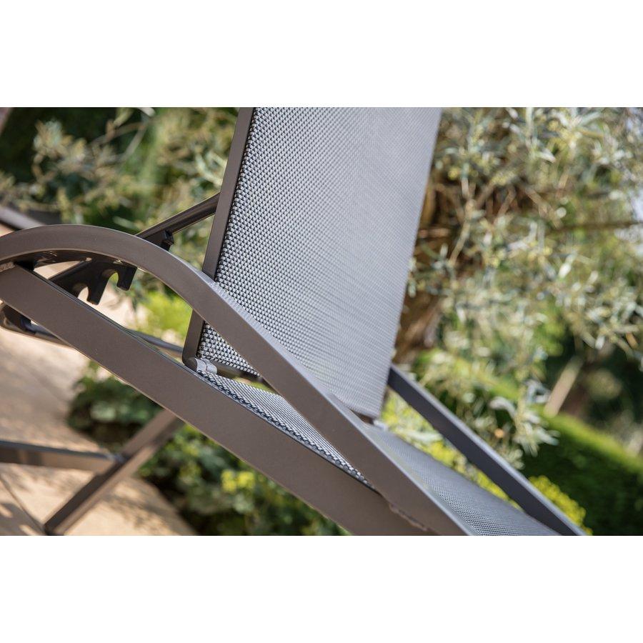 Ligbed - Mojito Negro - Aluminium - Lesli Living-4
