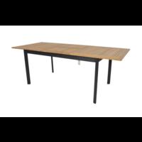 thumb-Tuintafel Uittrekbaar - Monza - Teak - 152/210 cm - Lesli Living-1