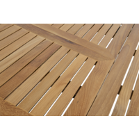 thumb-Tuintafel Uittrekbaar - Monza - Teak - 152/210 cm - Lesli Living-5