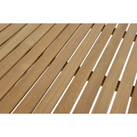 thumb-Tuintafel - Monza - Teak - 150x90 cm - Lesli Living-5