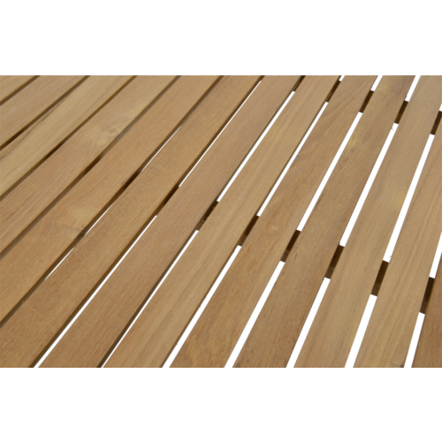 Lesli Living  Tuintafel - Monza - Teak - 150x90 cm - Lesli Living