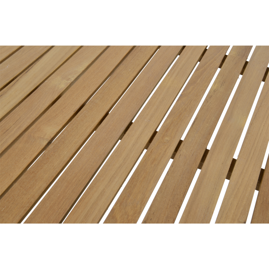 Tuintafel - Monza - Teak - 150x90 cm - Lesli Living-5
